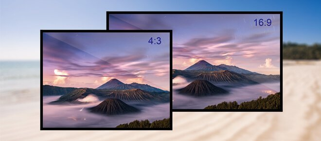 What is general aspect ratio