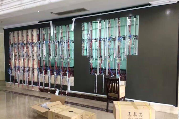 Installation of indoor display screen