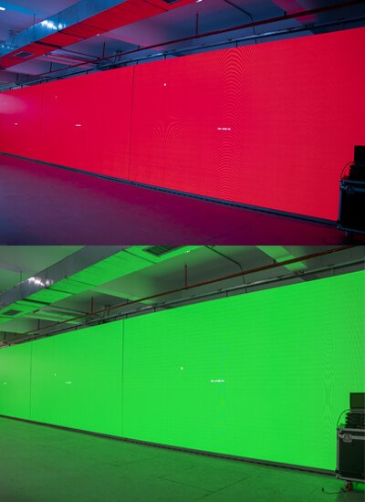 LED screen aging test