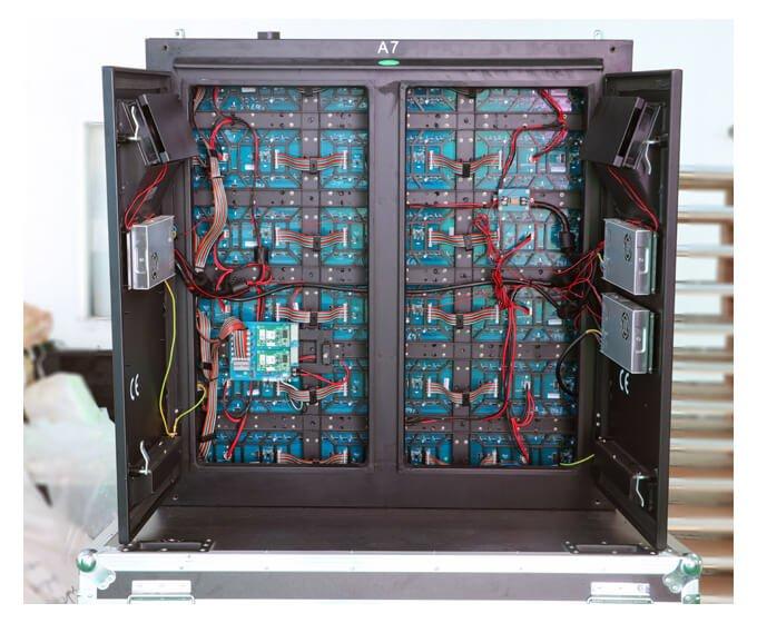 Steel led cabinet