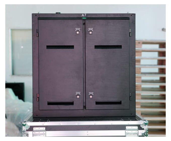 Waterproof steel cabinet