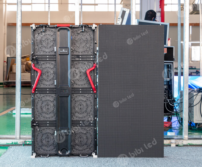 Rental led video wall