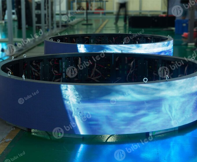 flexible led wall