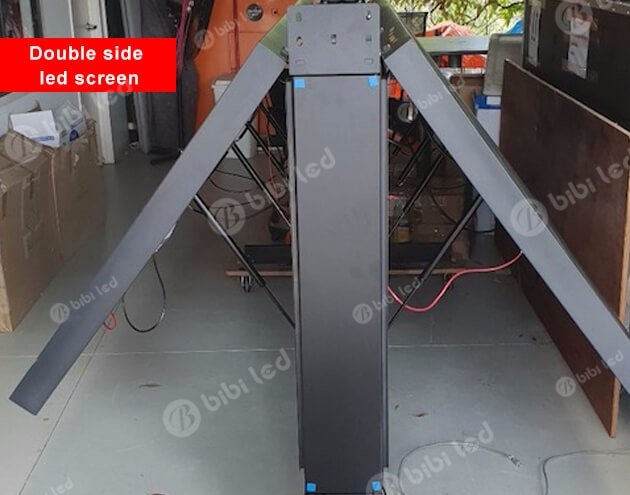 Double side led screen