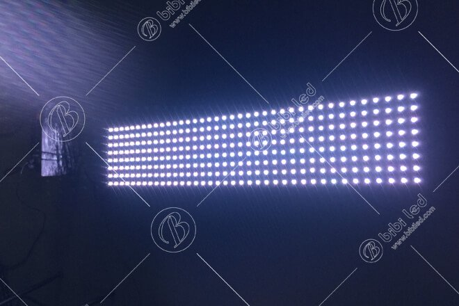 M37.5 Mesh LED Screen to United Arab Emirates