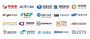 LED screen manufacturers list