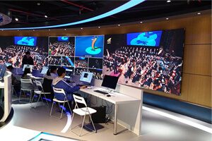 P2.5 indoor high resolution led display in Italy