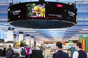 P3 flexible led display screen in France