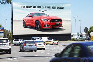 led advertisement