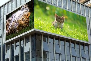 outdoor front access LED screen